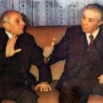 Eqrem Cabej dhe Enver Hoxha