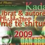 Librat & autoret me te shitur 2009