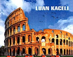 Italishtja ne udhetim, Luan Kaceli (kopertina)