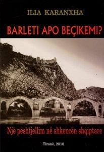 Barleti apo Becikemi Ilia Karanxha (kopertina)