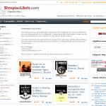 Faqja e re e Shtepise se Librit (foto)