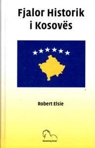 Fjalori Historik i Kosoves, Robert Elsie (kopertina)