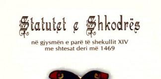 Statutet e Shkodres (foto)