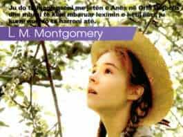 Ana flokekuqja, L M. Montgomery (kopertina)