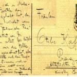 Letra - Franc Kafka per Felice Bauer