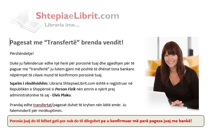"""Pagesat me """"Transfertë"""" brenda Shqipërisë!"""