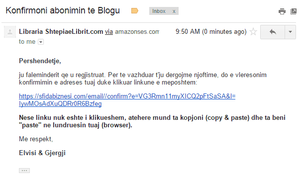 konfirmoni abonimin te blogu