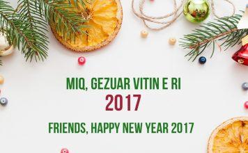 Gezuar Vitin e Ri 2017
