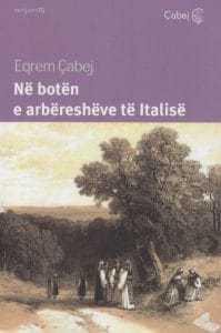 Në botën e arbëresheve të Italisë, Eqrem Cabej