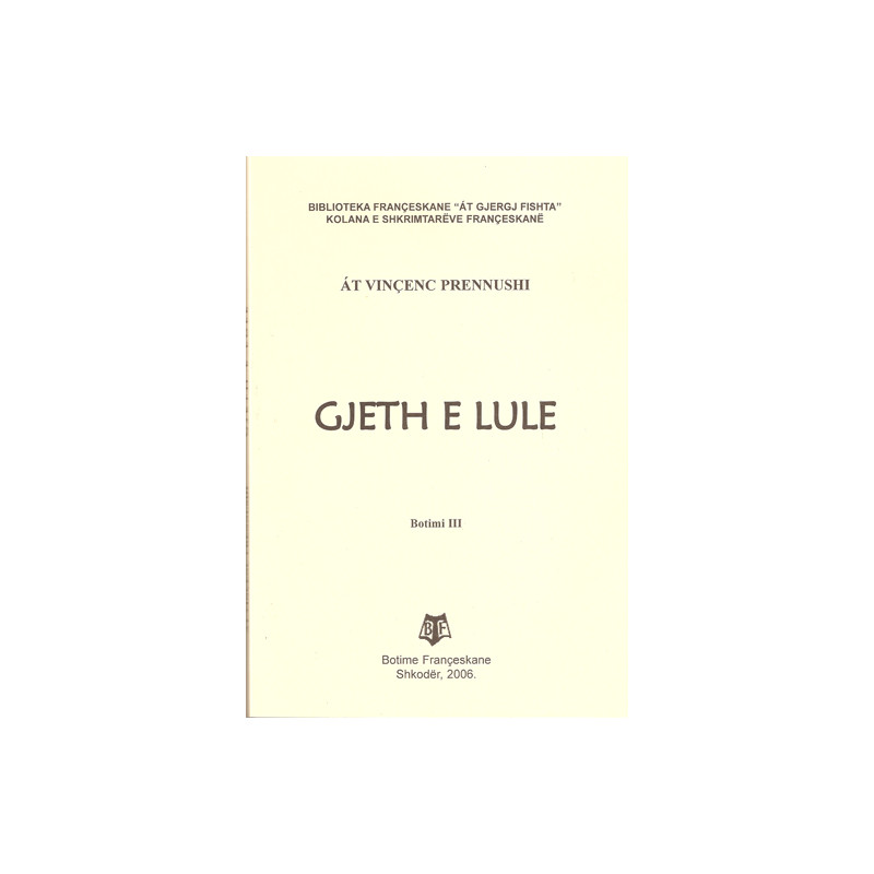 Gjeth e Lule, At Vincenc Prennushi