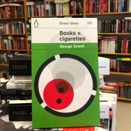 Books v. cigarettes, George...