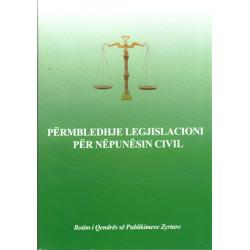 Permbledhje Legjislacioni Per Nenpunesit Civile