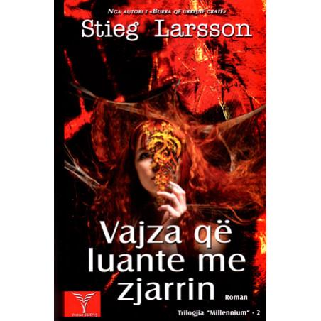 Vajza qe luante me zjarrin, Stieg Larsson