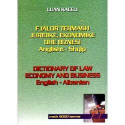 Fjalor termash juridike, ekonomike dhe biznesi anglisht-shqip, L