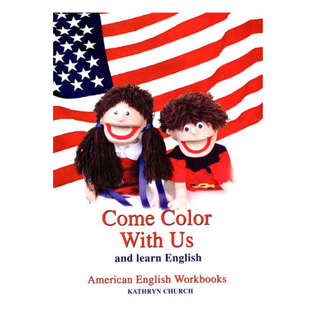 Come Color With Us and Learn English, Kathryn Church