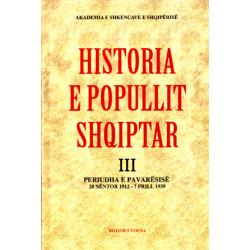 Historia e popullit shqiptar. Vol 3