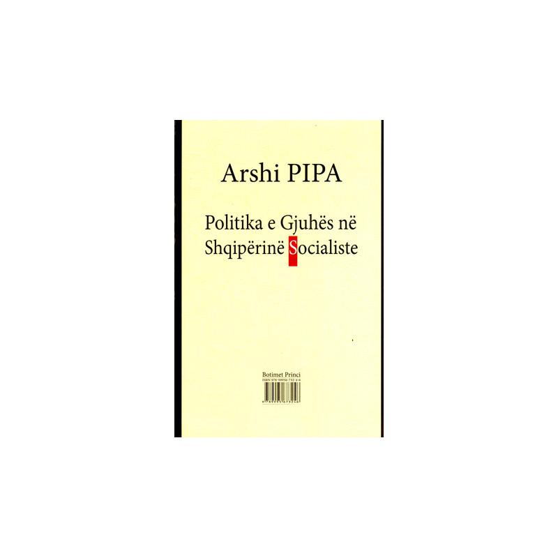 Politika e gjuhes ne Shqiperine Socialiste, Arshi Pipa
