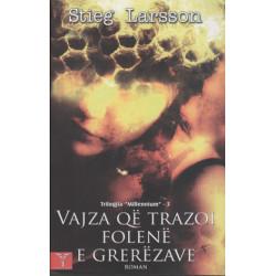 Vajza qe trazoi folene e grerezave, Stieg Larsson