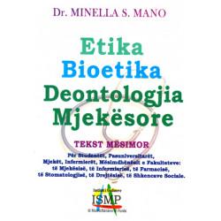 Etika, Bioetika, Deontologjia Mjekesore, Minella S. Mano