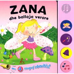 Zana dhe balloja verore - perralle me 4 tinguj zbavites