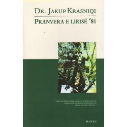 Pranvera e lirise 81, Jakup Krasniqi