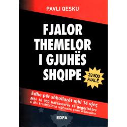 Fjalor themelor i gjuhes shqipe, Pavli Qesku