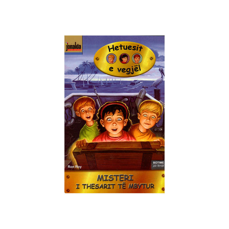 Hetuesit e Vegjel 4, Misteri i Thesarit te Mbytur, Ron Roy