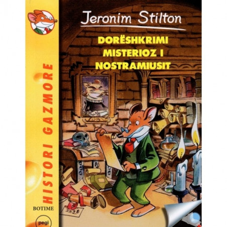 Jeronim Stilton, Doreshkrimi misterioz i Nostramiusit
