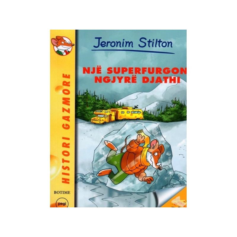 Jeronim Stilton, Nje superfurgon ngjyre djathi
