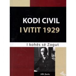 Kodi Civil i vitit 1929