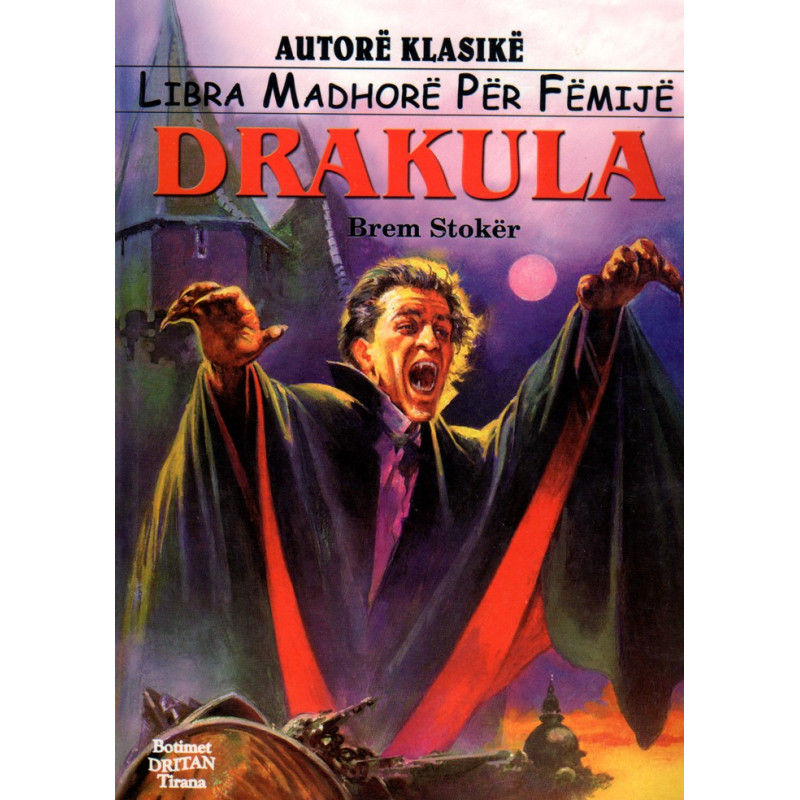 Drakula (pershtatje per femije), Bram Stoker