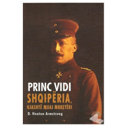Princ Vidi, Shqiperia, Gjashte muaj mbreteri, D.Heaton Armstrong