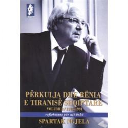 Perkulja dhe renia e tiranise shqiptare, vol. 2, Spartak Ngjela