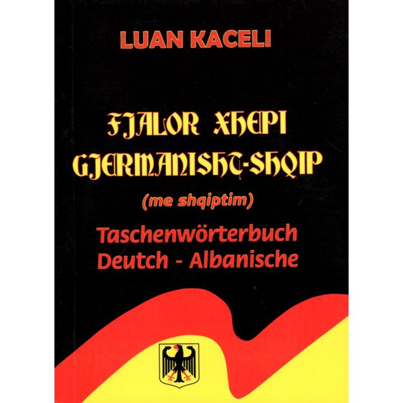 Fjalor xhepi gjermanisht-shqip, me shqiptim, Luan Kaceli
