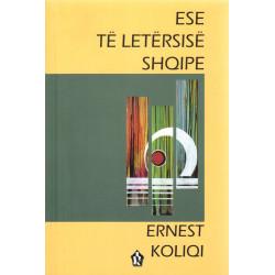Ese te letersise shqipe,...