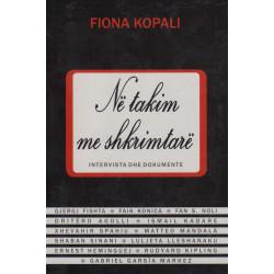 Ne takim me shkrimtare, Fiona Kopali