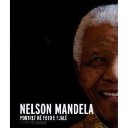 Nelson Mandela, portret ne foto e fjale