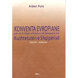 Konventa Evropiane per te drejtat e njeriut, Arben Puto