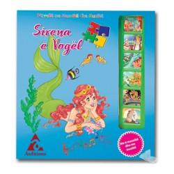 Sirena e vogel, perralle me mozaike dhe muzike