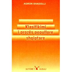 Klasifikimi i prozes popullore shqiptare, Agron Xhagolli
