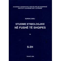 Studime etimologjike, vol. 7, Eqrem Cabej