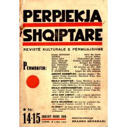 Perpjekja Shqiptare, nr. 14-15, shkurt-mars 1938