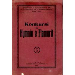 Konkursi per Hymnin e Flamurit, 1937