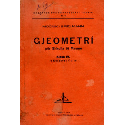 Gjeometri per shkollat e mesme, 1938