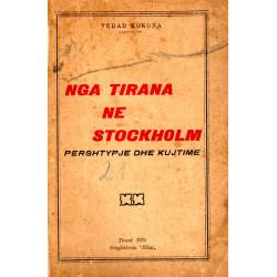 Nga Tirana ne Stockholm, Vedat Kokona, 1935