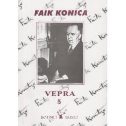 Faik Konica, Vepra e plote, vol. 5