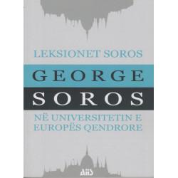 Leksionet Soros ne Universitetin e Europes Qendrore, George Soros