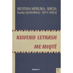 Kuvend letrash me miqte, Mustafa Merlika-Kruja, vol. 1