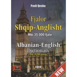 Fjalor anglisht - shqip, Pavli Qesku