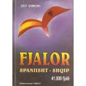 Fjalor Spanjisht-Shqip, 41 mije fjale, Zef Simoni